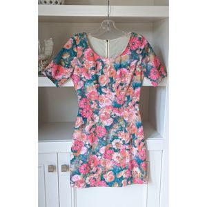 Gianni Bini Mini dress - Floral pattern - size xs